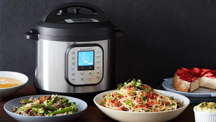 Multicookers by Instant Pot, Ninja and more can steam, saute, bake, roast...the list goes on. Catch them on major sale for Prime Day! (Photo: Amazon)