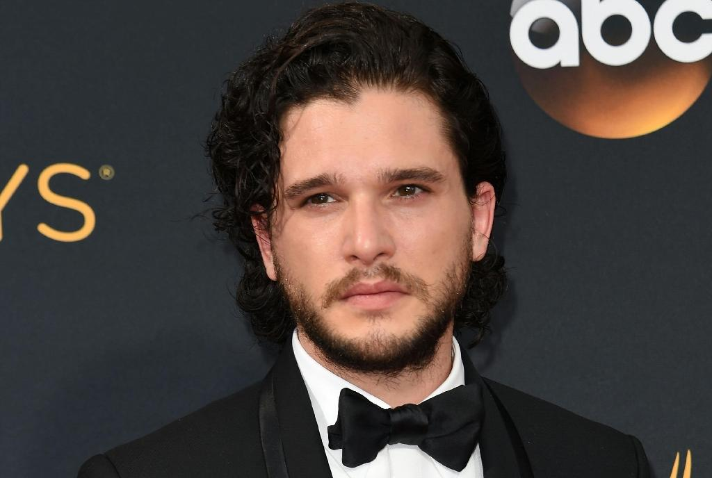 """""""Game of Thrones"""" Kit Harington arrives for the 68th Emmy Awards on September 18, 2016 at the Microsoft Theatre in Los Angeles (AFP Photo/)"""