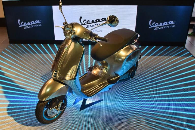 Vespa Electtrica is an ace all-electric scooter