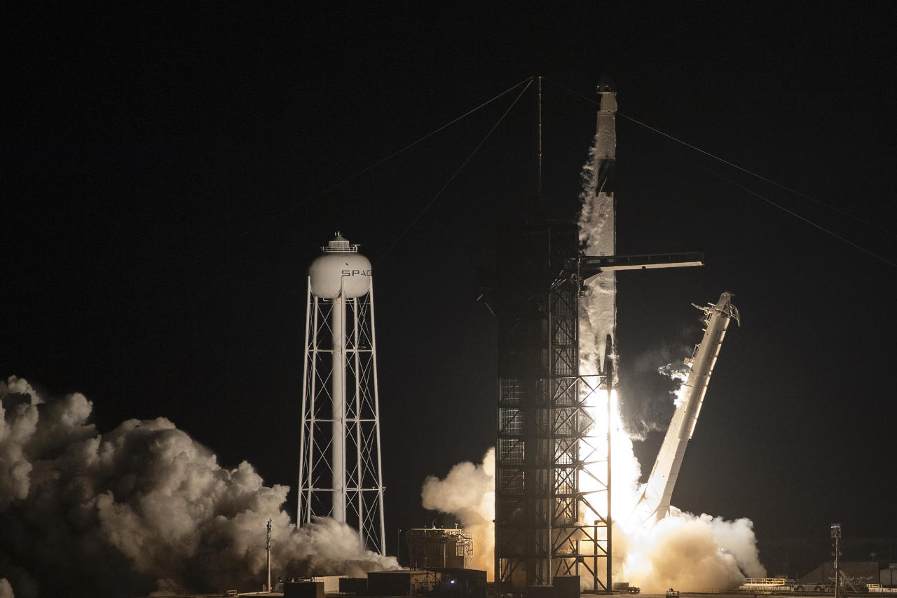 The private company founded by billionaire Elon Musk has revolutionized spaceflight in recent years by developing rockets capable of delivering their payload in space then flying back to Earth and landing upright on a target zone, ready to be-reused.