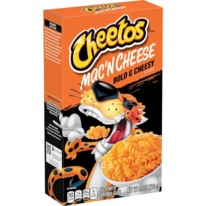 Which flavor are you most excited to try? (Cheetos)