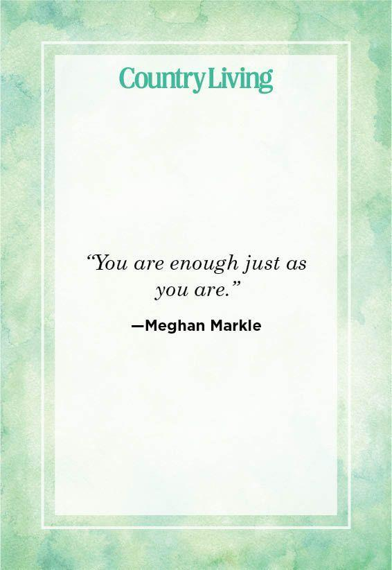 """<p>""""You are enough just as you are.""""</p>"""