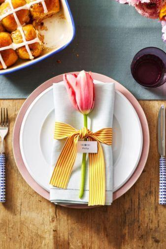 """<p>Jazz up your <a href=""""https://www.womansday.com/food-recipes/g2867/easter-brunch-recipes/"""" rel=""""nofollow noopener"""" target=""""_blank"""" data-ylk=""""slk:Easter brunch"""" class=""""link rapid-noclick-resp"""">Easter brunch</a> with some lovely ribbon centerpieces that are easy to make but will make a big statement on your table. </p><p><strong><em>Get the tutorial at <a href=""""https://www.goodhousekeeping.com/holidays/easter-ideas/g711/easter-spring-crafts/?slide=29"""" rel=""""nofollow noopener"""" target=""""_blank"""" data-ylk=""""slk:Good Housekeeping."""" class=""""link rapid-noclick-resp"""">Good Housekeeping. </a></em></strong></p>"""