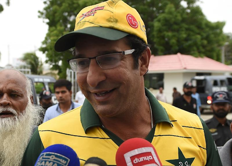 Wasim Akram says the T20 league is vital for Pakistan to match the fast-rising standards of other Twenty20 teams (AFP Photo/Asif Hassan)