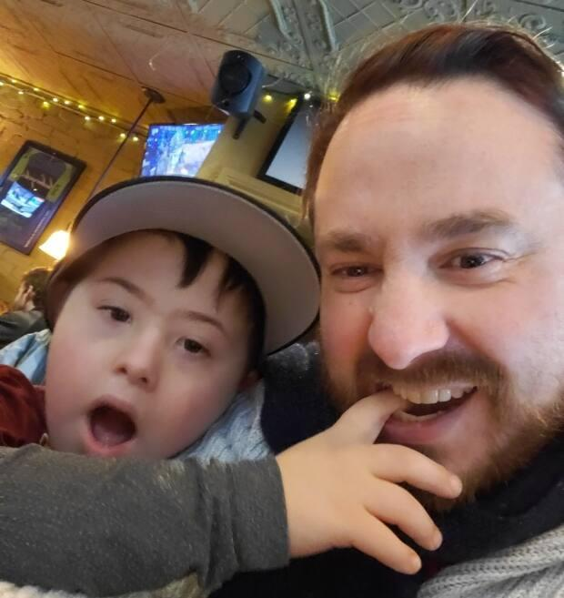 Leo Tarr's physical and cognitive abilities have improved since he's become more active, his dad Ben says.