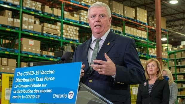 Retired general Rick Hillier finished his term as chair of Ontario's COVID-19 vaccine distribution task force at the end of March