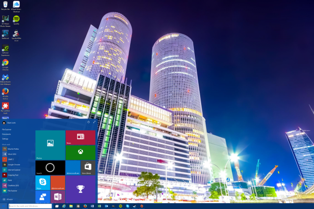 How to change your wallpaper and login screen in Windows 10