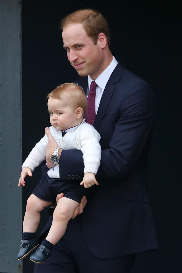 <p>How come Kate gets longer hemlines and George is stuck with shorts? </p>
