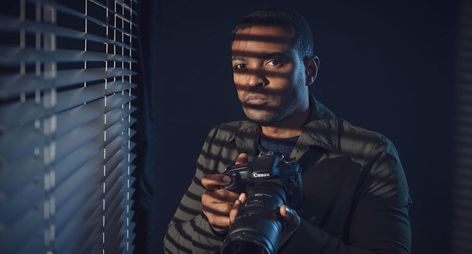 Noel Clarke as DC Martin Young in Viewpoint. The show's final episode will be on ITV Hub. (ITV)