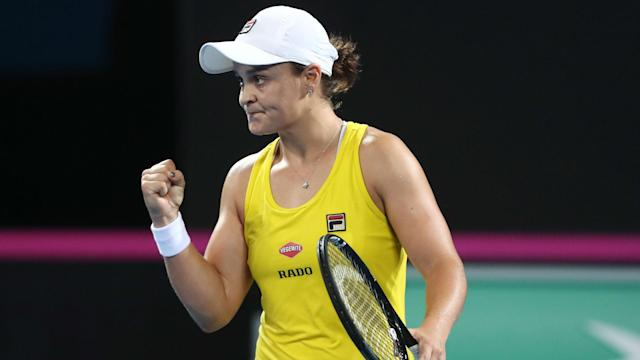 Aryna Sabalenka and Ashleigh Barty will meet in a potentially pivotal showdown on Sunday after winning their opening matches.