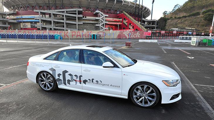 Audi designing future safety tech to act politely when taking control