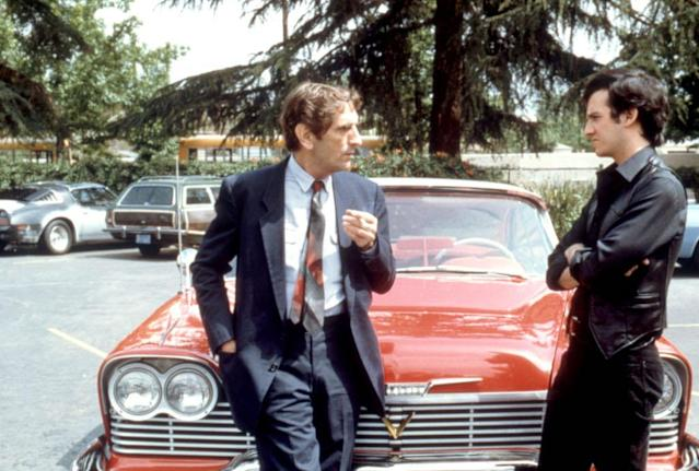 <p>Stanton, per usual, steals scenes as the detective in the John Carpenter-helmed adaptation of Stephen King's novel about a demonic Plymouth Fury.<br><br>(Photo: Columbia Pictures/courtesy Everett Collection) </p>