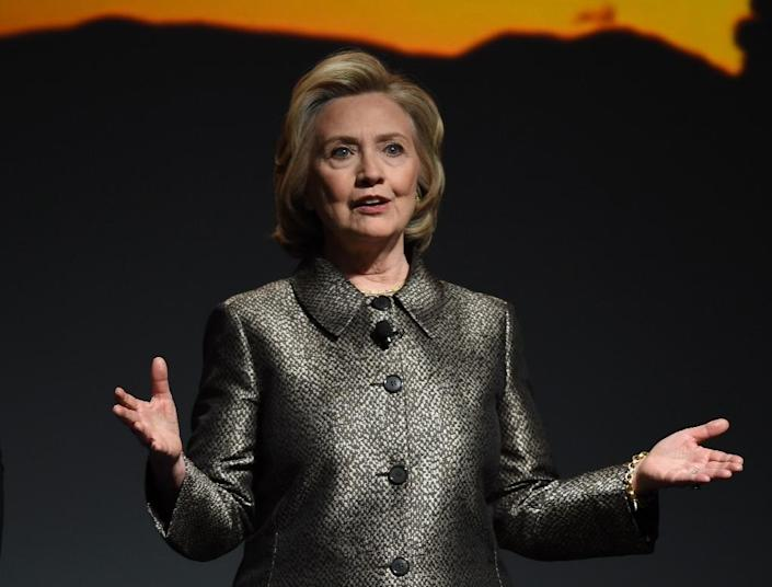 <p>Hillary Clinton in New York on March 9, 2015. (Photo: Don Emmert/AFP)</p>