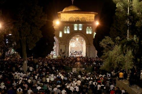 """<span class=""""caption"""">Al-Aqsa Mosque in Jerusalem is one of Islam's holiest sites.</span> <span class=""""attribution""""><span class=""""source"""">REUTERS/Ammar Awad</span></span>"""