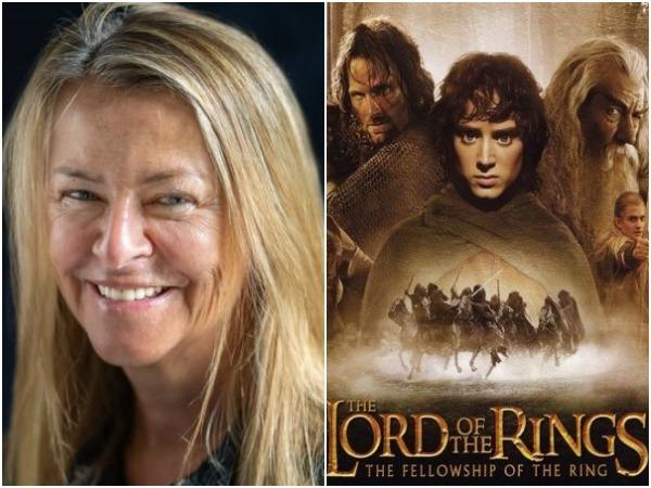 Charlotte Brandstrom and 'Lord of The Rings' poster (Image courtesy: Instagram)