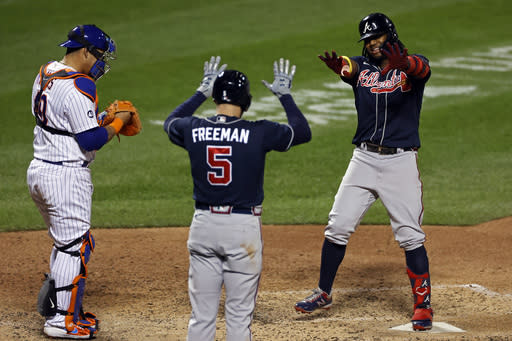 Braves blow out Mets 15-2, inch closer to NL East crown