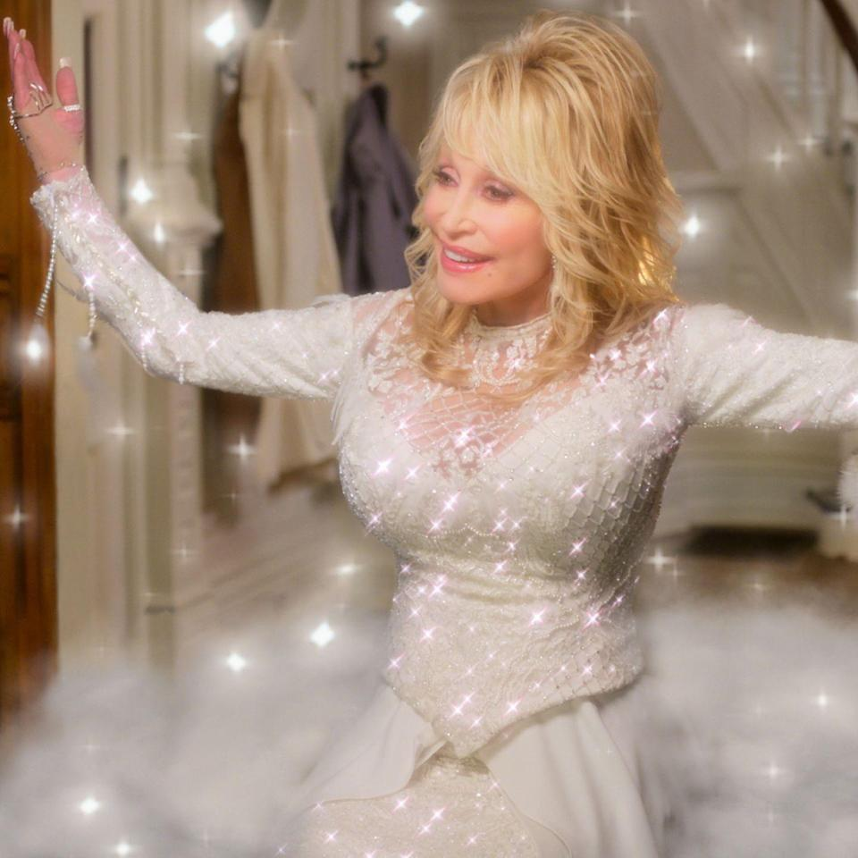 <p>Hey, <em>Grey's</em> fans, Debbie Allen, who plays Dr. Catherine Fox on the long-running ABC scrubs drama, has a Christmas surprise we think you're going to like. She's directing a musical starring none other than national treasure Dolly Parton. Featuring 12 new songs and hairdos as close as to heaven as hairdos can get, <em>Christmas on the Square</em> is the companion piece to Parton's <em>Holly Dolly Christmas</em> album. As for the movie, we're expecting a gender-switched take on <em>A Christmas Carol</em>—with a Dolly twist, of course. </p><p><strong>Look for it:</strong> November 22 on Netflix</p>