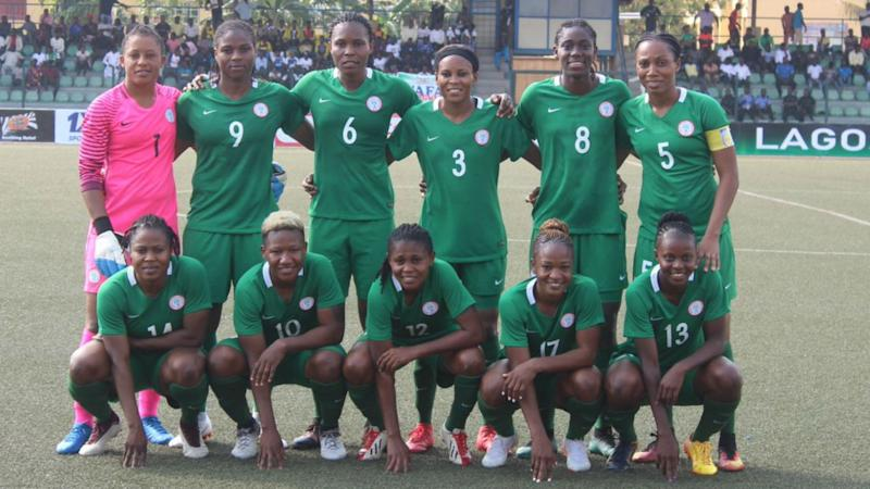 Super Falcons arrive Cape Coast for Africa Women's Cup of Nations
