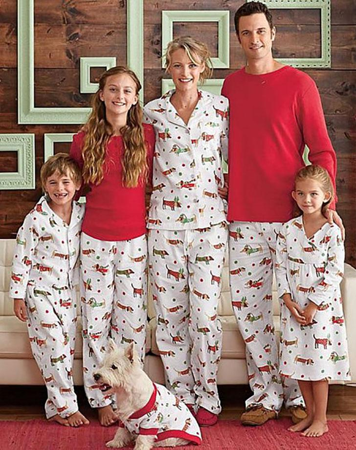 d1eee3f7d61a 14 Ridiculously Cute Matching Pajamas You Didn t Know Your Family ...