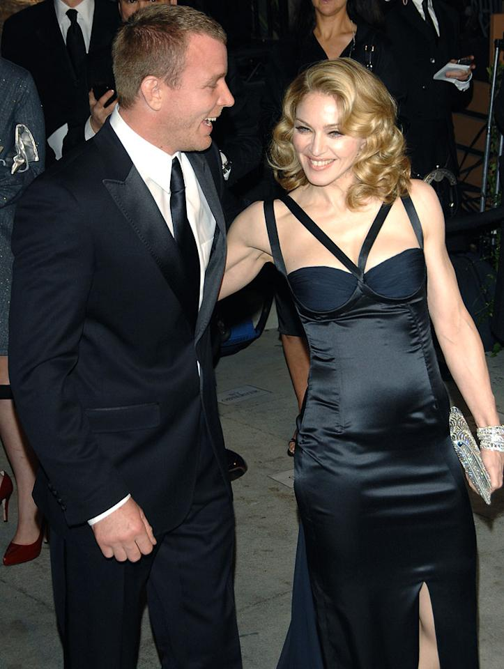 "Guy Ritchie is the one man who was able to tame Madonna. George Pimentel/<a href=""http://www.wireimage.com"" target=""new"">WireImage.com</a> - February 25, 2007"