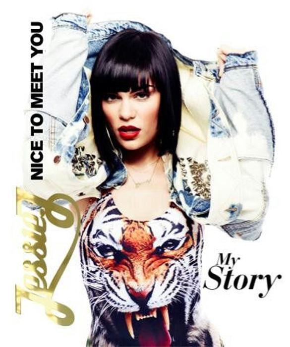 Jessie J Reveals 'Nice To Meet You' Autobiography Cover
