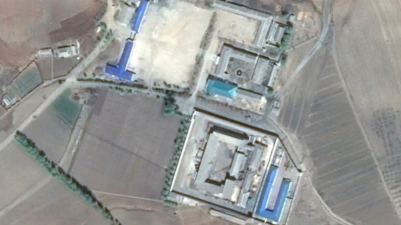"Newly released satellite images offer a never-before-seen glimpse of North Korea's ""brutal and inhumane"" network of political prisons, including secret labor camps."