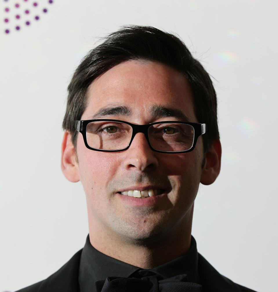Colin Murray arriving for the Sony Radio Academy Awards, at Grosvenor House Hotel in central London.   (Photo by Yui Mok/PA Images via Getty Images)