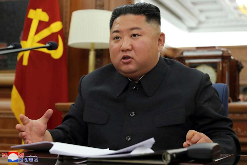 North Korea leader Kim Jong Un (Korean Central News Agency/Korea News Service via AP)