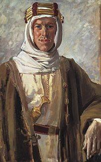 Painting of Lawrence of Arabia, by Augustus John - Augustus John/Wikimedia Commons