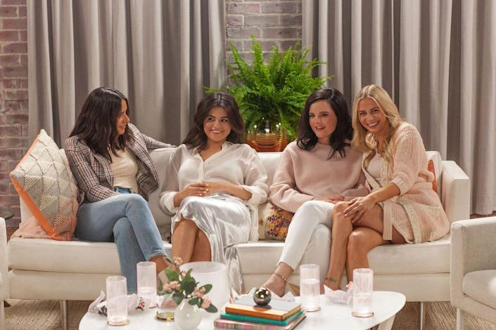 """<p>Selena Gomez is no stranger to a celebrity friendship, hanging out with Taylor Swift and Julia Michaels regularly. But she also relies on her non-Hollywood friends, including Raquelle Stevens, Courtney Lopez, Connar Franklin, and Ashley Cook. In 2018, Selena got matching tattoos with Raquelle, Courtney, and Ashley that paid homage to their friendship <a href=""""https://www.instagram.com/p/BmogmCSgl4Q/"""" rel=""""nofollow noopener"""" target=""""_blank"""" data-ylk=""""slk:on Instagram"""" class=""""link rapid-noclick-resp"""">on Instagram</a>. She wrote, in part, """"<a href=""""https://www.instagram.com/explore/tags/4/"""" rel=""""nofollow noopener"""" target=""""_blank"""" data-ylk=""""slk:#4"""" class=""""link rapid-noclick-resp"""">#4</a> because these women have stayed by my side for 7 years (<a href=""""https://www.instagram.com/ashley_cook/"""" rel=""""nofollow noopener"""" target=""""_blank"""" data-ylk=""""slk:@ashley_cook"""" class=""""link rapid-noclick-resp"""">@ashley_cook</a> 12 years) 4, because you are my 4 for the rest of my life. I love you ladies. You all inspire me to be better, stronger, closer to god and we have lived the most INSANE story together already. Can't wait for 50 more!! """" <a href=""""https://www.elle.com/culture/celebrities/a29204856/selena-gomez-giving-back-generation-friend-interview-quotes/"""" rel=""""nofollow noopener"""" target=""""_blank"""" data-ylk=""""slk:Selena also appeared"""" class=""""link rapid-noclick-resp"""">Selena also appeared</a> alongside Raquelle, Ashley, and Courtney on Raquelle's <em><a href=""""https://www.tatatu.com/gbg"""" rel=""""nofollow noopener"""" target=""""_blank"""" data-ylk=""""slk:Giving Back Generation"""" class=""""link rapid-noclick-resp"""">Giving Back Generation</a> </em>series.</p>"""