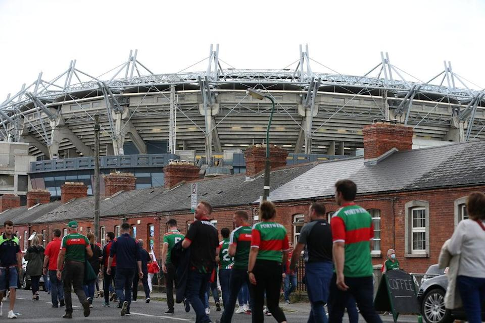 Croke Park was filled with fans (Damien Storan/PA) (PA Wire)