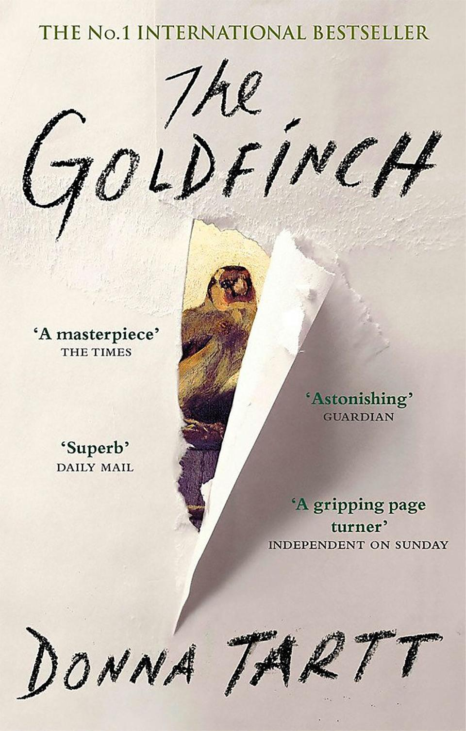 <i>The Goldfinch</i> earned rave reviews when it was released in 2014. (Abacus/Amazon)