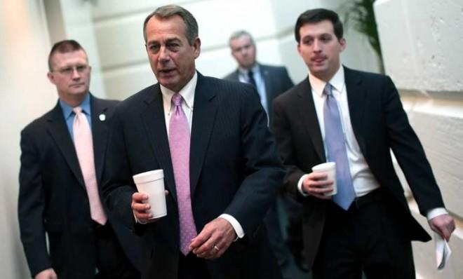 House Speaker John Boehner gets back to business Jan. 4, and passes the once-delayed Hurricane Sandy aid bill.
