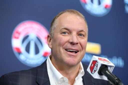 Wizards name Tommy Sheppard GM, part of front office redo