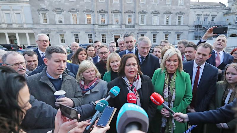 Sinn Fein TD: Not possible to form government without Fine Gael or Fianna Fail