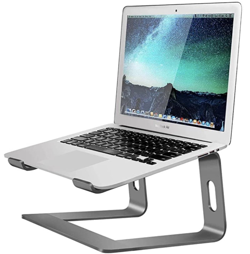 Mountain Stand Aluminum Laptop Stand. (PHOTO: Amazon)