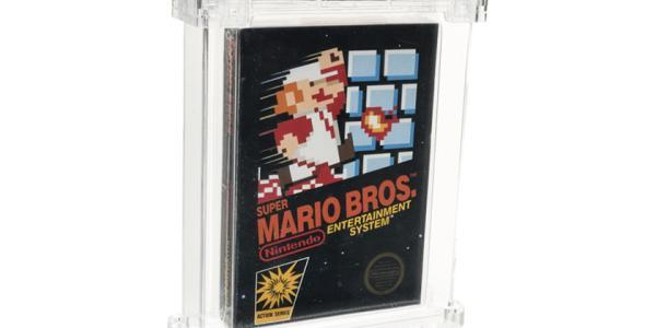 Copia sellada de Super Mario Bros. se vende por $114,000 USD