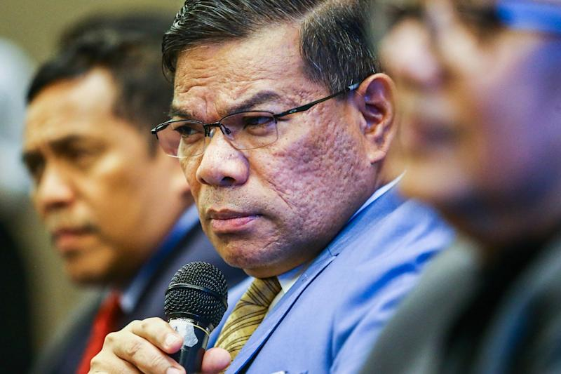 Saifuddin Nasution said the party had 'circumstantial evidence' of attempts to hijack the ruling coalition and sought to warn the public about it. — Picture by Hari Anggara