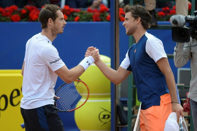Andy Murray beaten by Austria's Dominic Thiem in Barcelona Open semi-final
