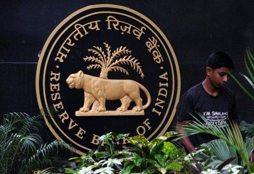 India's central bank is suspected of an intervention in foreign exchange markets to stabilise the rupee