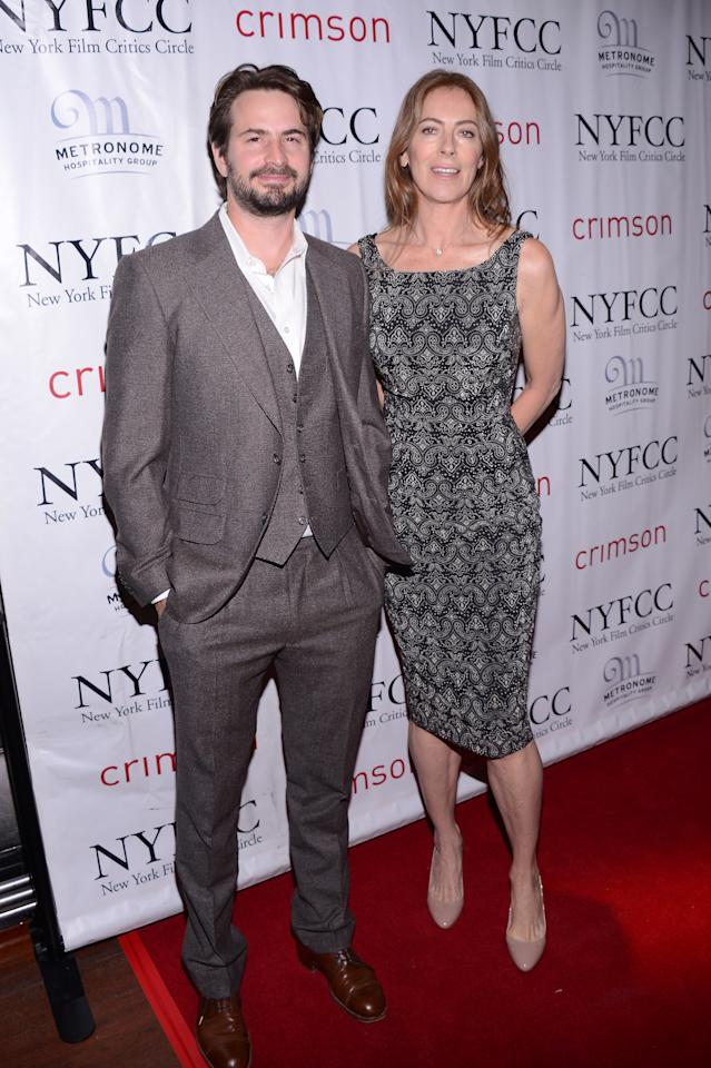 NEW YORK, NY - JANUARY 07:  Screenwriter Mark Boal and Filmmaker Kathryn Bigelow attend the 2012 New York Film Critics Circle Awards at Crimson on January 7, 2013 in New York City.  (Photo by Stephen Lovekin/Getty Images)