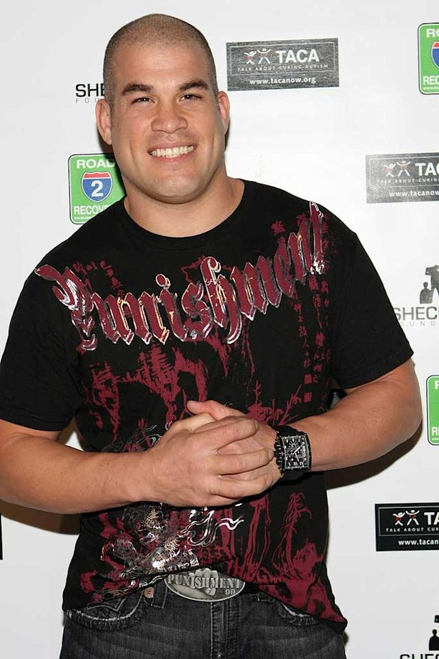 """January 23: Tito Ortiz turns 36 Chelsea Lauren/<a href=""""http://www.wireimage.com"""" target=""""new"""">WireImage.com</a> - February 6, 2009"""