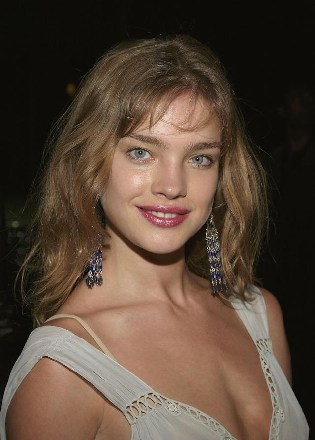 Natalia Vodianova in 2004. (Photo: Getty Images)