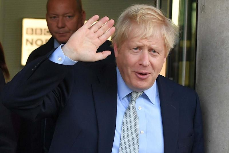 Prime Minister Boris Johnson in Manchester on Friday: PA
