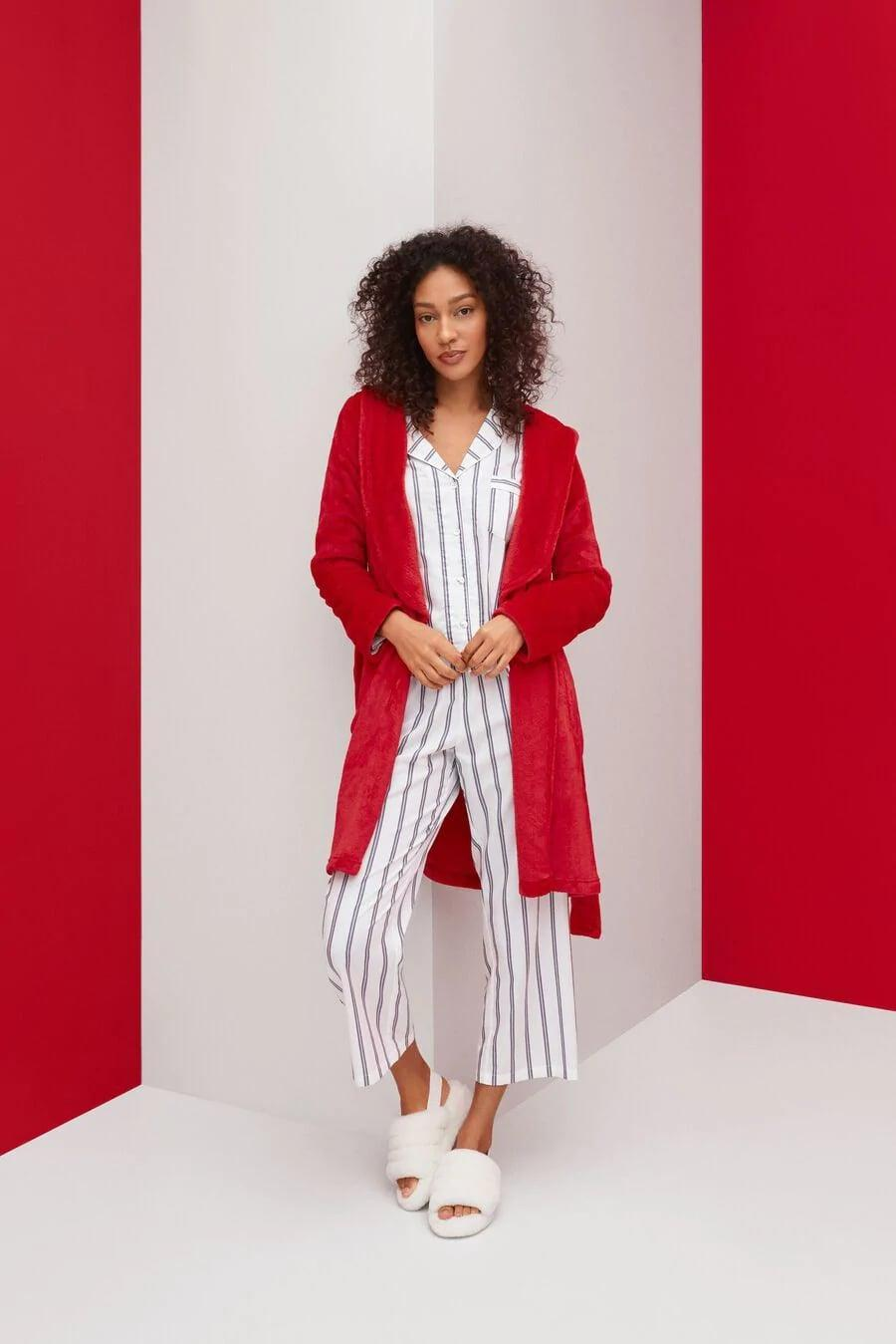 <p>If you need is, we'll be wrapped up in this <span>UGG Miranda Fleece Robe</span> ($130).</p>