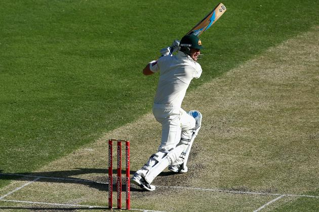 Michael Clarke of Australia bats during day four of the First Test match between Australia and South Africa at The Gabba on November 12, 2012 in Brisbane, Australia.  (Photo by Ryan Pierse/Getty Images)