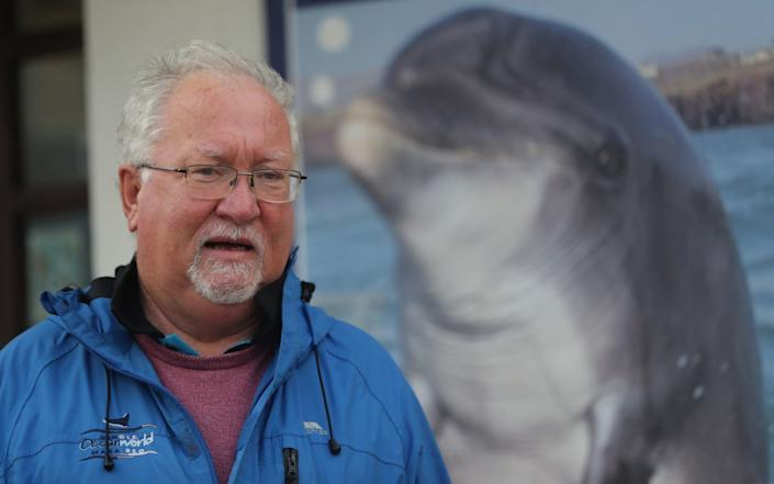 Local marine biologist Dr Kevin Flannery is worried that Fungie may have succumbed to old age - Niall Carson/PA