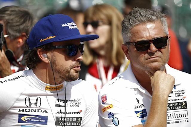 McLaren boss Zak Brown has confirmed that Gil de Ferran is undertaking an advisory role that covers both Formula 1 and a potential IndyCar project