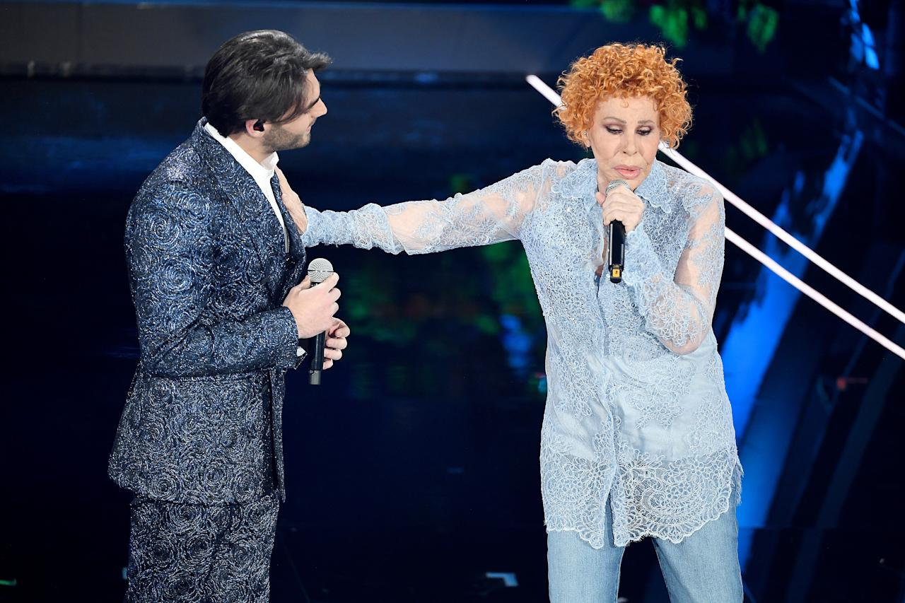 Alberto Urso e Ornella Vanoni (Photo by Daniele Venturelli/Getty Images)
