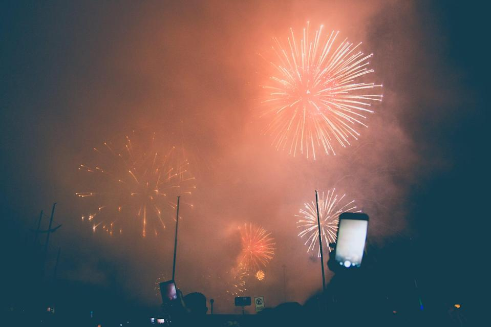"""<p> Pretend you're in a sea of people enjoying fireworks with this fun backdrop.</p> <p> <a href=""""http://media1.popsugar-assets.com/files/2020/12/23/748/n/1922507/324977f5a0e3025e_alvaro-reyes-F7Bnis7IwjA-unsplash/i/Download-this-Zoom-background-image-here.jpg"""" class=""""link rapid-noclick-resp"""" rel=""""nofollow noopener"""" target=""""_blank"""" data-ylk=""""slk:Download this Zoom background image here."""">Download this Zoom background image here.</a> </p>"""